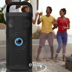 Brookstone Big Blue Party Président Bluetooth Intérieur-extérieur, Avec Câble De Recharge