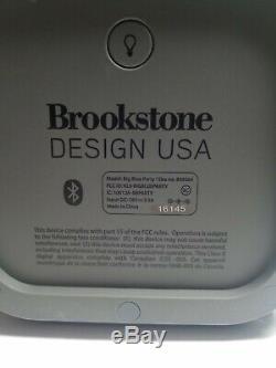 Brookstone Big Blue Party Président Bluetooth Intérieur-extérieur Excellent État