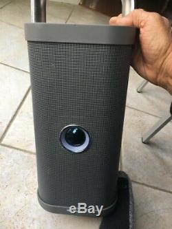 Brookstone Conception Etats-unis Big Blue Party Bluetooth Speaker Works Grande