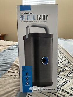 Brookstone Grande Fête Bleu Président Ouvert Box