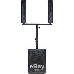 Complete House Party Dj Système Karaoké Avec Haut-parleurs, Mixeur, Microphones Et Supports