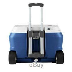 Coolest Cooler Party Blender Haut-parleur Bluetooth, Usb Led Et Chargeur Avec Plaques Bleu