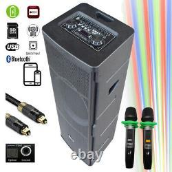 Dj06 Bluetooth Rechargeable Parti Haut-parleur Avec Optique Loa Kéo DI Ng