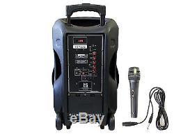 Dj15bta Hybrid Dj-party Haut-parleur Avec Lecteur Mp3 Usb Bluetooth Intégré Au Bat 3000w