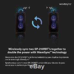 Dolphin 3400w Bluetooth Tailgate Party Rechargeable Speaker System + Wavesync