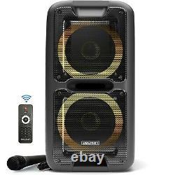 Dolphin Partybox 3400w Party Bluetooth Hayon Système D'enceintes Avec Des Lumières Et Tws