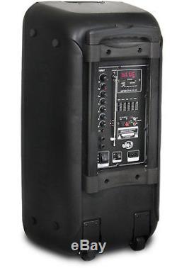 Dolphin Sp-211rbt Système D'enceintes De Sonorisation Rechargeable Double 10 4 400 W