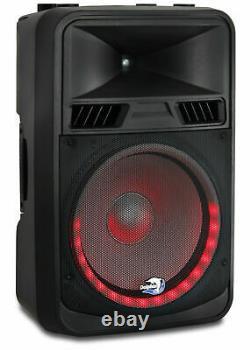 Dolphin Spx-180bt Elite Series 15 Dj Party Speaker Avec Rave Light 5500 Watts