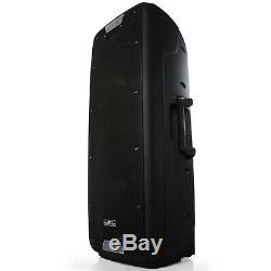 Double 12 Caisson De Graves Bluetooth Portable Pa Party Enceinte Système Usb / Sd MIC Distance