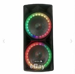 Edison Party Professional Lumières Bluetooth Haut-parleurs 6500 Watts