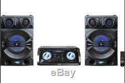 Edison Party Professional Système 1220 Bluetooth Speaker System