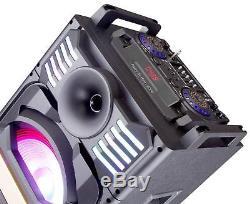 Edison Professional Party System 2000 Enceinte Sans Fil Bluetooth