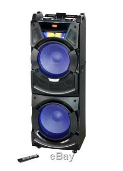Edison Professional Party System 350 Système De Haut-parleurs Sans Fil Bluetooth