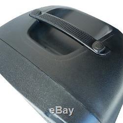 Emb 2000 Watts Dual 12 Haut-parleur Dj Rechargeable Bluetooth Avec Lumière, Écho
