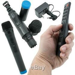 Emb Pkl1700 Enceinte Portable Karaoké 800 Watts Avec Micro, Usb, Sd, Bluetooth, Télécommande