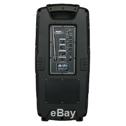 Emb Pkl208bt Haut-parleur De Sonorisation Dj Rechargeable De 1 000 Watts Avec Micro, Usb, Sd, Bluetooth
