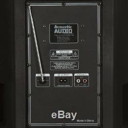 Enceinte De Sonorisation 15 Parties Bluetooth Avec Batterie Et Éclairage