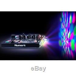Gemini 15 Haut-parleurs Bluetooth Powered W Party MIX Dj Numark Controller & Lumières