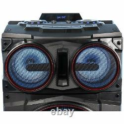Gemini Gmax-6000 Dual 15 In. Système Bluetooth Party