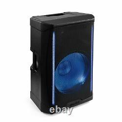 Gemini Pro Audio Dj 1000w Watts 15 Pouces Party Haut-parleurs De Système Pa Bluetooth Led