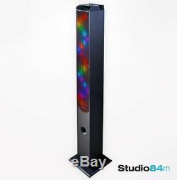 Grand Haut-parleur De Tour De Partie De Bluetooth De Goodmans Avec Les Lumières Led Sensibles Sonores