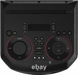 Haut-parleur Audio Bluetooth Lg Rn7 Xboom Avec Éclairage Led Intégré
