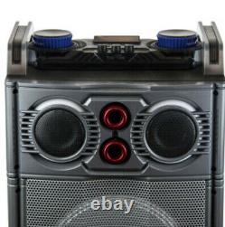 Haut-parleur Bluetooth 51 Avec Subwoofer Portable, Télécommande, Micro Et Lumières De Partie