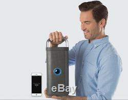 Haut-parleur Bluetooth Intérieur-extérieur Brookstone Big Blue Party, Avec Câble De Chargement