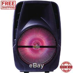 Haut-parleur Bluetooth Parti Haut-parleur Portable 15 Multi-fonctions Powered 1500w