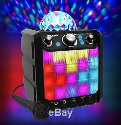 Haut-parleur Bluetooth Portable Ion Party Rocker Express Avec Del Sans P, Ire Et Uk