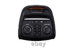 Haut-parleur Bluetooth Portable Norcent Dual 8 Pouces Avec Lumière Activée Par Le Son