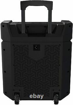 Haut-parleur Bluetooth Portable Rechargeable À Haute Puissance Avec Lumières