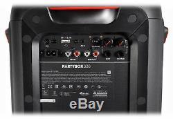 Haut-parleur De Fête À Hayon Bluetooth À Del Rechargeable Jbl Partybox 300 Avec (2) Micros