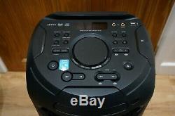 Haut-parleur De Fête Megasound Bluetooth Sony Mhc-v21d, Noir