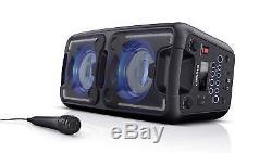 Haut-parleur De Fête Portable Haute Puissance Sharp Ps-920 150w Avec Microphone Bluetooth +
