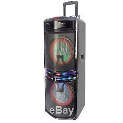 Haut-parleur De Soirée Portable Bluetooth Befree Sound Dual 10 Subwoofer Reconditionné