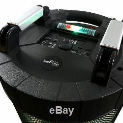Haut-parleur Dj Portable Befree Bluetooth Avec Son À 360 Degrés, Allume 2 Micros