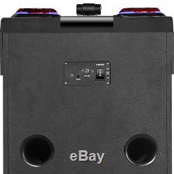 Haut-parleur Extérieur Dj Rechargeable Dual 10 Bluetooth Nutek Ts-122101