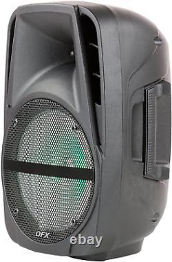Haut-parleur Portable Bluetooth Party 7 500 W 15 Pouces Microphone Sans Fil Et Support