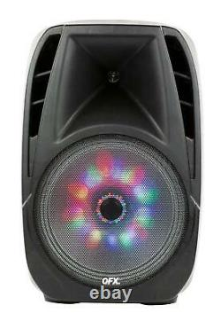 Haut-parleur Portable Bluetooth Party 7,500w 15 Inch Wireless Microphone & Stand