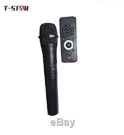 Haut-parleur Portable Bluetooth T-star Dual 10 Party Karaoke Party + Micro Sans Fil