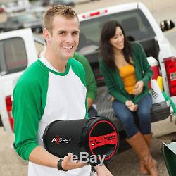 Haut-parleur Portable Haut-parleur Sans Fil Bluetooth Rechargeable Basse Partie Noire