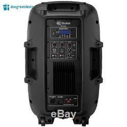 Haut-parleur Portable Irocker Sur Roues 1500w Bluetooth Usb Rca Fm