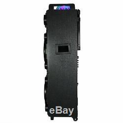 Haut-parleur Portable Sans Fil Bluetooth Dual Dual 10 Pouces Subwoofer Sound Avec Sou