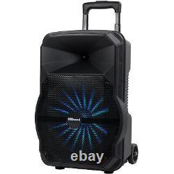Haut-parleur Rechargeable Rechargeable De 12 Pouces Avec Bluetooth 6,400w Pm