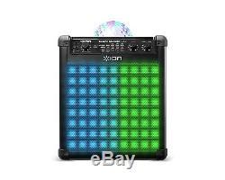 Haut-parleur Sans Fil Rechargeable Ion Audio Party Rocker Max Avec Disco Multi-effets