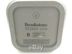 Haut-parleur Wi-fi Et Bluetooth Portable Brookstone Big Blue Party 360 Pour L'intérieur Et L'extérieur