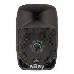 Ibiza Sound System Portable Party-12led 12 700w Sans Fil Bluetooth MIC Sd Usd