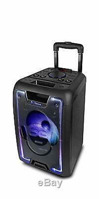 Idance Megabox 1000, Système De Fête Portable Bluetooth Sound And Light 200w