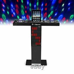 Idance Xd300 Bluetooth Haut-parleur Karaoke Party Station Avec Light Show